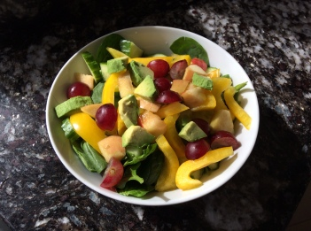 Fruit in a salad